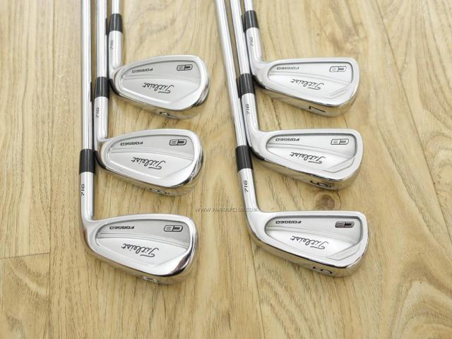 Iron set : Other Brand : ชุดเหล็ก Titleist 716 CB Forged (ออกปี 2016) มีเหล็ก 5-Pw (6 ชิ้น) ก้านเหล็ก NS Pro 950 Flex S
