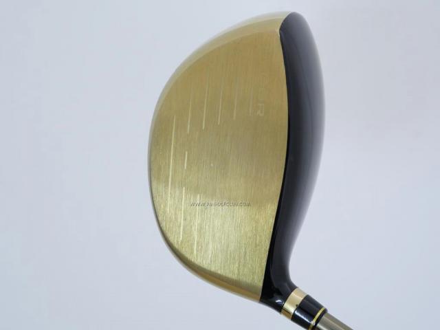 Driver : Tsuruya : Tsuruya AXEL Gold Premium (460cc. ตัวท๊อป หน้าเด้ง Non-Conform ของใหม่ 4 หมื่น) Loft 10.5 Flex S