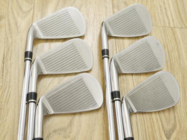 Iron set : Other Brand : ชุดเหล็ก Wilson TAB TC-1 (รุ่นท๊อปสุด หน้าเด้ง ตีไกล) มีเหล็ก 5-Pw (6 ชิ้น) ก้านเหล็ก NS Pro 950 Flex R