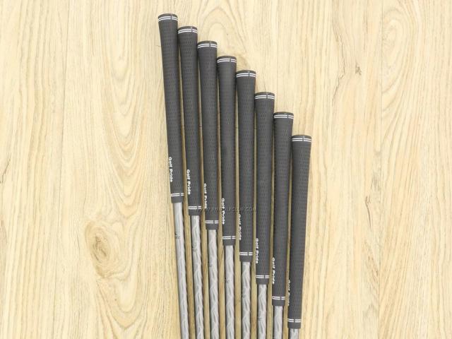 Iron set : Tsuruya : ชุดเหล็ก Tsuruya AXEL BL Ver.III (ปี 2018 หน้าเด้ง ตีไกล) มีเหล็ก 5-Pw,Aw,Sw (8 ชิ้น) ก้านกราไฟต์ Flex S