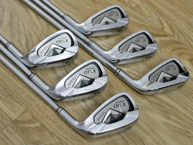 Iron set : XXIO : ชุดเหล็ก XXIO Forged 4 มีเหล็ก 5-Pw (6 ชิ้น) ก้านเหล็ก NS Pro 950 Flex S