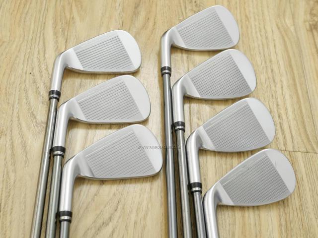 Iron set : Other Brand : ชุดเหล็ก Roddio Forged (ใบใหญ่ ตีง่าย ไกล) มีเหล็ก 5-Pw,Aw (7 ชิ้น) สุดยอดก้าน Roddio Pentacrossweb I-6 Flex S