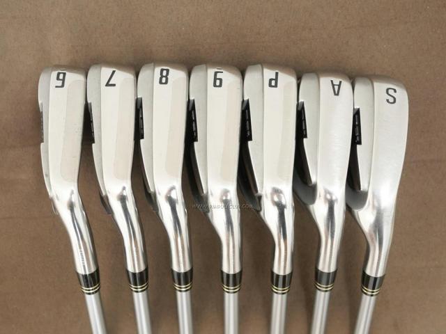 Iron set : Other Brand : ชุดเหล็ก Ryoma DSI (รุ่นล่าสุด ตีง่ายมาก ไกลมากๆ หายากสุดๆ) มีเหล็ก 6-Pw,Aw,Sw (7 ชิ้น เหล็ก 6 ระยะเท่าเหล็ก 5 รุ่นอื่น) ก้านกราไฟต์ Tour AD Flex S
