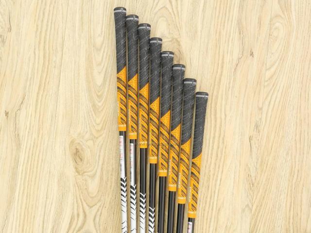 Iron set : Katana : ชุดเหล็กกระเทย Katana Sword SL-Eight มีเหล็ก 5-Pw,Aw,Sw (8 ชิ้น) ก้านกราไฟต์ FLex R
