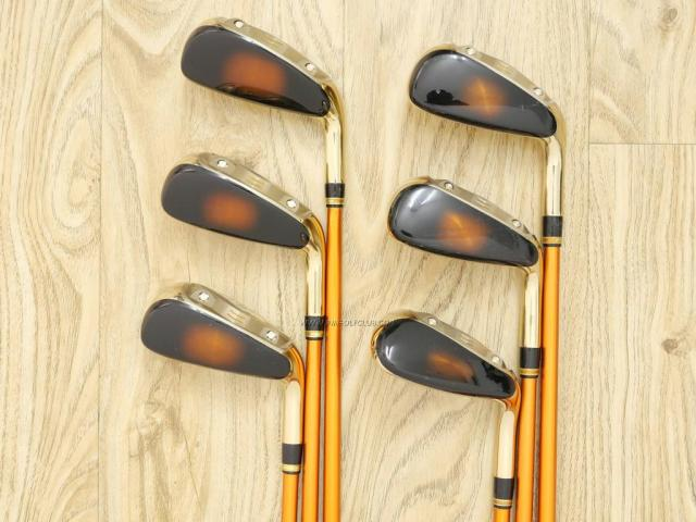 Iron set : Katana : ชุดเหล็กกระเทย Katana Sniper i (ตีง่ายมากๆ ไกลมากๆ) มีเหล็ก 7-Pw,Aw,Sw (6 ชิ้น เบอร์ 7 ตีระยะเท่าเหล็ก 6 ปกติ) ก้านกราไฟต์ Flex R