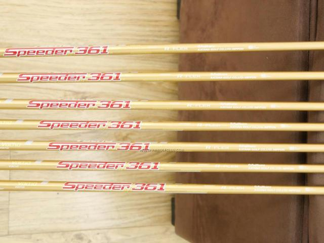 Iron set : Katana : ชุดเหล็ก Katana Voltio NINJA 880Hi Gold (รุ่นท็อปสุด ปี 2018 ตีง่าย ไกล สวยมากๆ) มีเหล็ก 6-Pw,Aw,Sw (7 ชิ้น) ก้านกราไฟต์ Fujikura Speeder 361 Flex R