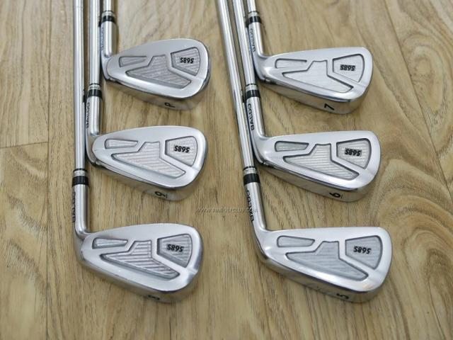 Iron set : Other Brand : ชุดเหล็ก Baldo 568S (รุ่นใหม่ ปี 2016 Forged S20C) มีเหล็ก 5-Pw (6 ชิ้น) ก้านเหล็ก NS Pro 950 Flex S