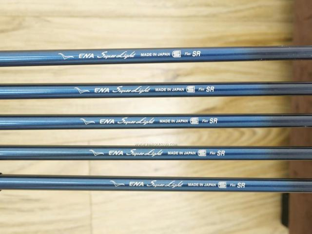 Iron set : Other Brand : ชุดเหล็ก ENA Super Light (หน้าเด้ง เบามาก อ่อน เหมาะกับซีเนียร์) มีเหล็ก 7-Pw,Aw (5 ชิ้น) ก้านกราไฟต์ Flex SR
