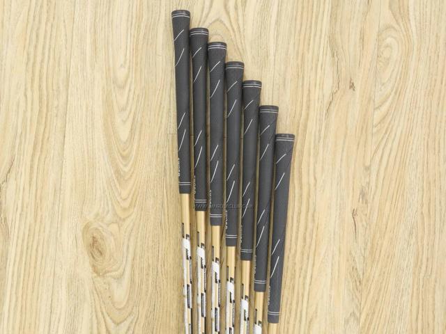 Iron set : Katana : ชุดเหล็ก Katana Sword Sniper 589 (หน้าเด้ง) มีเหล็ก 6-Pw,Aw,Sw (7 ชิ้น) ก้านกราไฟต์ Speeder 589 Flex SR