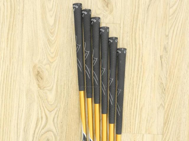 Iron set : Callaway : ชุดเหล็ก Callaway Warbird มีเหล็ก 5-Pw (6 ชิ้น) ก้านกราไฟต์ Flex R