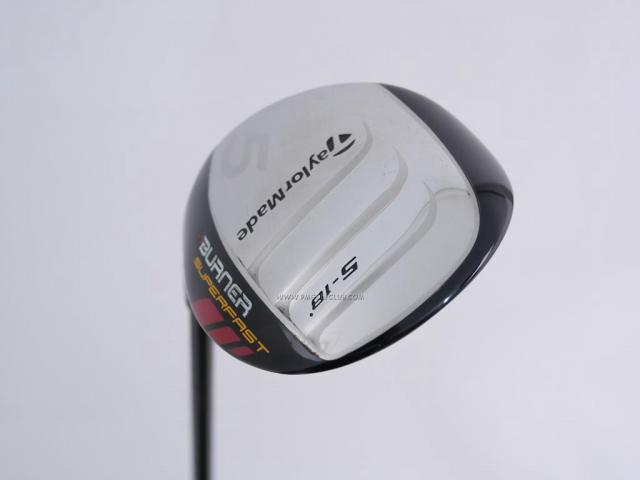 x.. Left Handed ..x : All : หัวไม้ 5 Taylormade Burner SuperFast Loft 18 Flex S