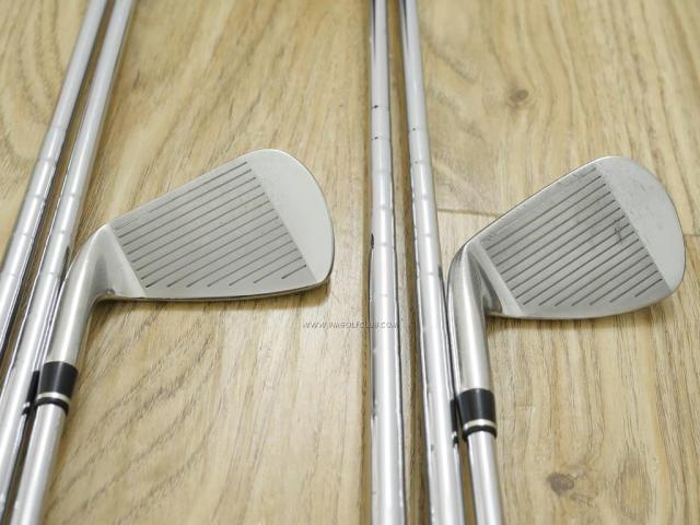 Iron set : Other Brand : ชุดเหล็ก Wilson TAB III (รุ่นท๊อปสุด หน้าเด้ง ตีไกล) มีเหล็ก 5-Pw,Aw,Sw (8 ชิ้น) ก้านเหล็ก NS Pro 850 Flex S