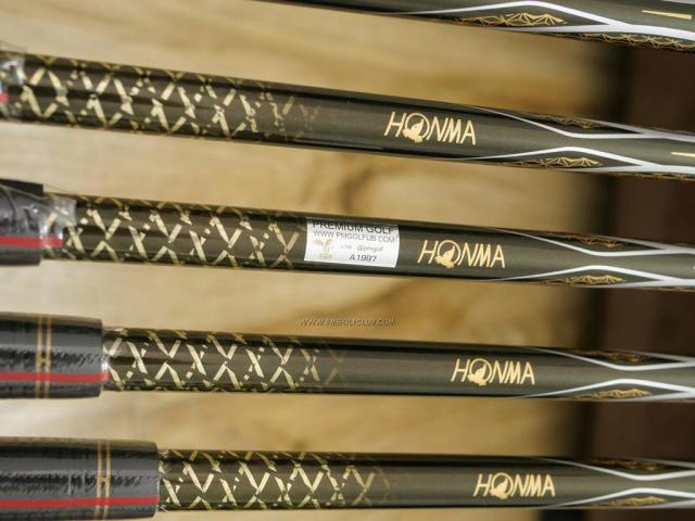 Iron set : Honma : **ของใหม่ ยังไม่แกะพลาสติก** ชุดเหล็ก Honma Beres 2020 Forged (รุ่นล่าสุด ออกปี 2020) มีเหล็ก 6-11 (6 ชิ้น เทียบเท่า 5-Pw) ก้าน ARMRQ (47) Flex R (2 ดาว)