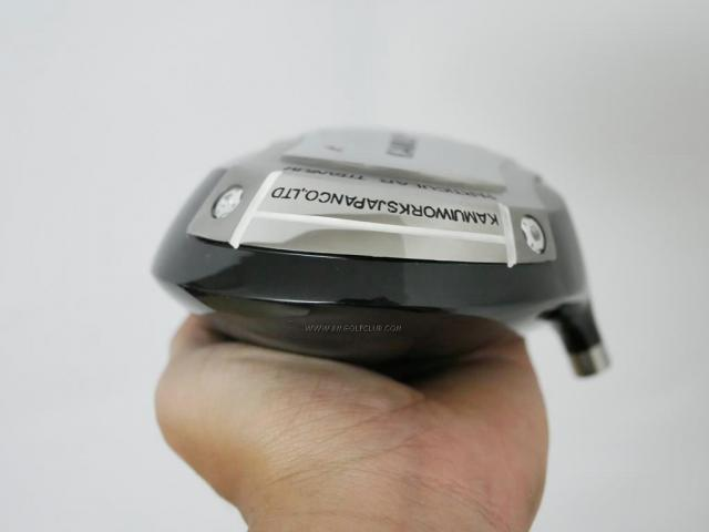 Head only : All : หัวไดรเวอร์ Kamuiworks KT-01 Silver (460cc.) Loft 10