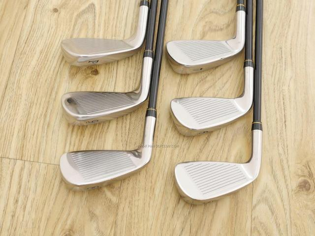 Iron set : Katana : ชุดเหล็ก Katana Sword V-Model (หน้าเด้ง) มีเหล็ก 5-Pw (6 ชิ้น) ก้านกราไฟต์ Flex R