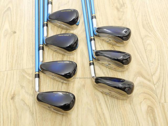 Iron set : Katana : ชุดเหล็กกระเทย Katana Sword SL-Eleven มีเหล็ก 7-12,Sw (7 ชิ้น เทียบเท่า 6-Pw,Aw,Sw) ก้านกราไฟต์ Flex R