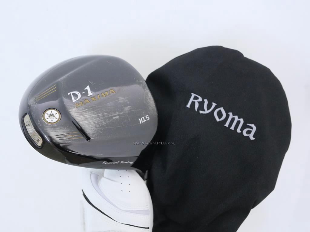 Driver : Ryoma : ไดรเวอร์ Ryoma D-1 Maxima Special Tunning (รุ่นปี 2015 หน้าเด้งเกินกฏ) Loft 10.5 ก้าน Ryoma Beyond Power Flex ∞