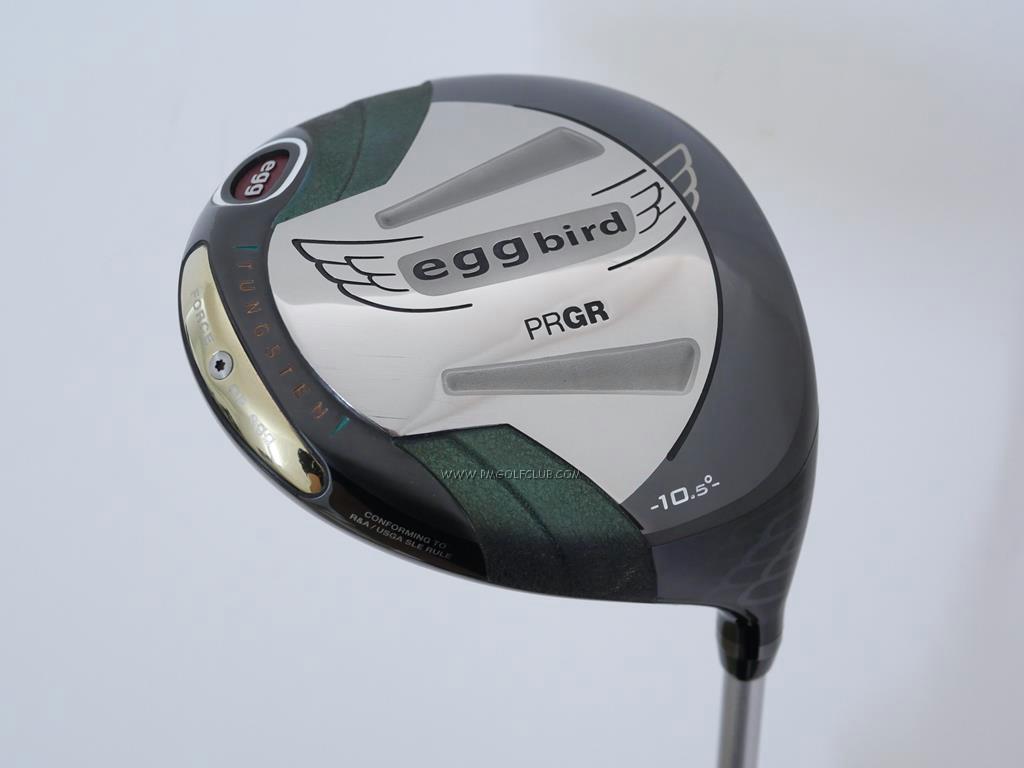 Driver : PRGR : ไดรเวอร์ PRGR New Egg Bird (460cc. เบาสบายสุดๆ) Loft 10.5 ก้าน M-43 (FLex S)
