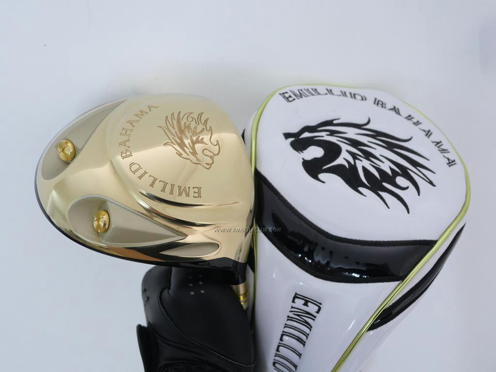 Driver : Other Brand : ไดรเวอร์ Emillid Bahama DC Gold (ตีไกลมาก ของใหม่ 6 หมื่นบาท) Loft 10.5 Flex SR