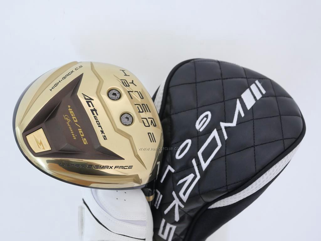 Driver : Worksgolf : ไดรเวอร์ Works Golf HyperBlade Sigma Premia (หน้าเด้งสุดๆ COR 0.86) Loft 10.5 Flex S