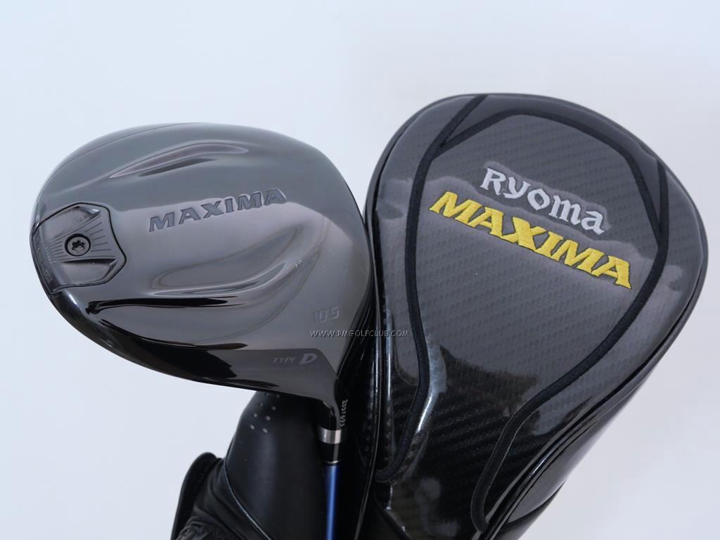 Driver : Ryoma : ไดรเวอร์ Ryoma Maxima II Type D (ตัวใหม่ล่าสุด ปี 2020) Loft 10.5 ก้าน Fujikura Speeder 474 Evolution V Flex S