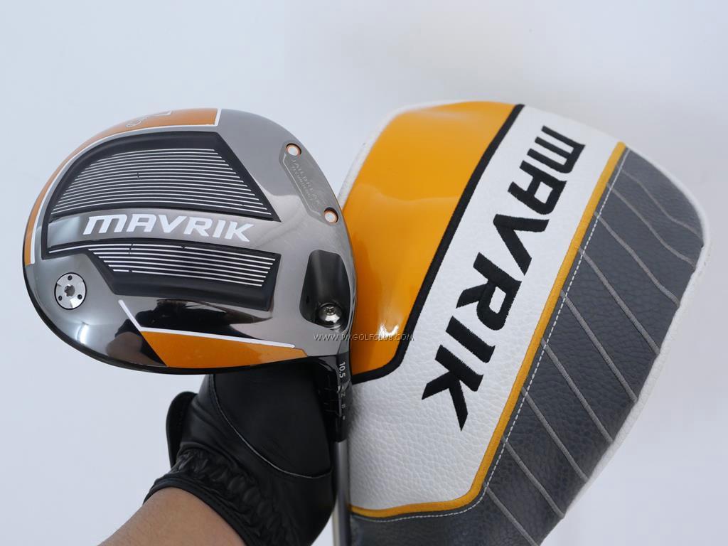 Driver : Callaway : ไดรเวอร์ Callaway Mavrik (รุ่นล่าสุด ออกปี 2020 Japan Spec.) Loft 10.5 ก้าน Mitsubishi Diamana 50 Flex R