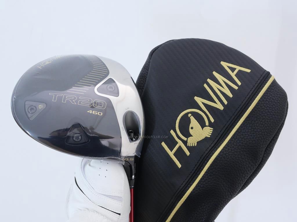Driver : Honma : **ของใหม่ ยังไม่แกะพลาสติก** ไดรเวอร์ Honma Tour World TR20 460 (ออกปี 2020) Loft 10.5 ก้าน Honma Vizard FD-5 Flex S