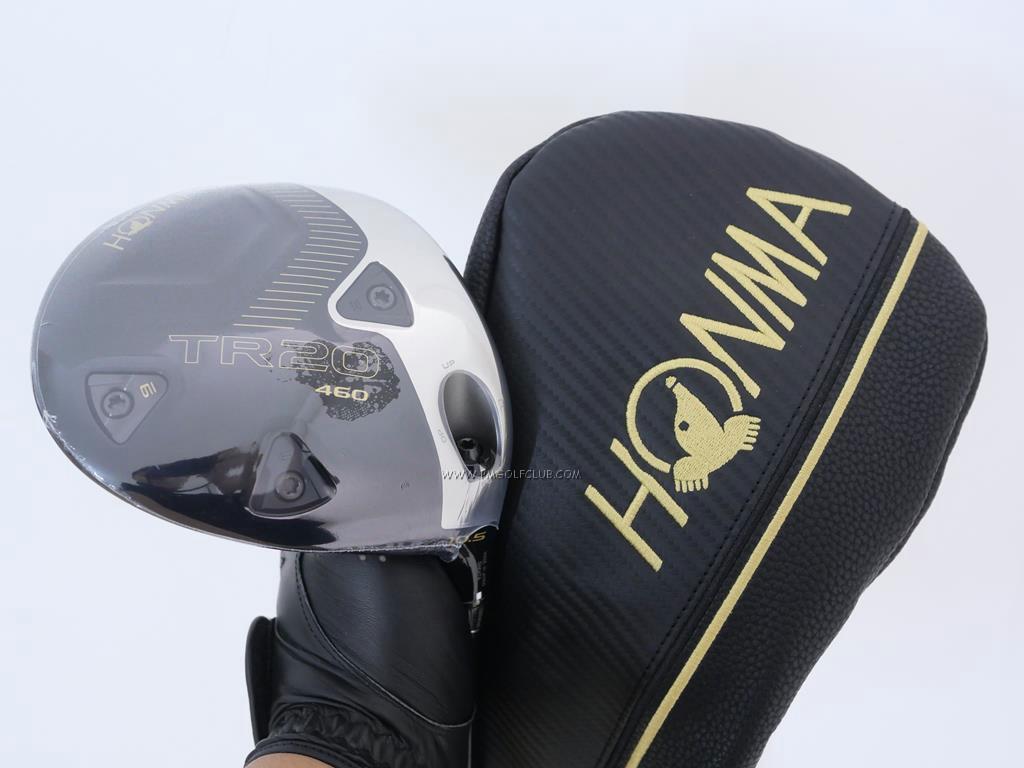 Driver : Honma : **ของใหม่ ยังไม่แกะพลาสติก** ไดรเวอร์ Honma Tour World TR20 460 (ออกปี 2020) Loft 10.5 ก้าน Honma Vizard TR20-50 Flex R
