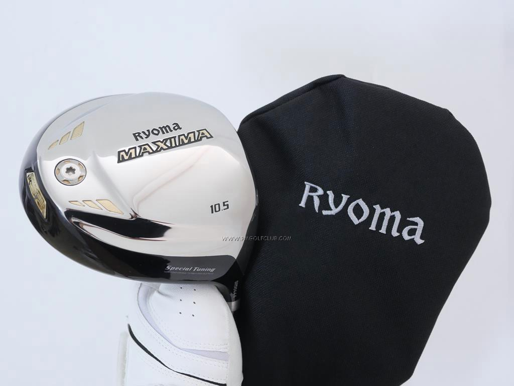 Driver : Ryoma : ไดรเวอร์ Ryoma Maxima Special Tunning (รุ่นปี 2019 หน้าเด้งเกินกฏ) Loft 10.5 ก้าน Tour AD M2-D Flex R