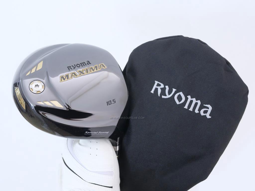 Driver : Ryoma : ไดรเวอร์ Ryoma Maxima Special Tunning (รุ่นปี 2019 หน้าเด้งเกินกฏ) Loft 10.5 ก้านตัวท็อป RYOMA BEYOND POWER FLEX ∞