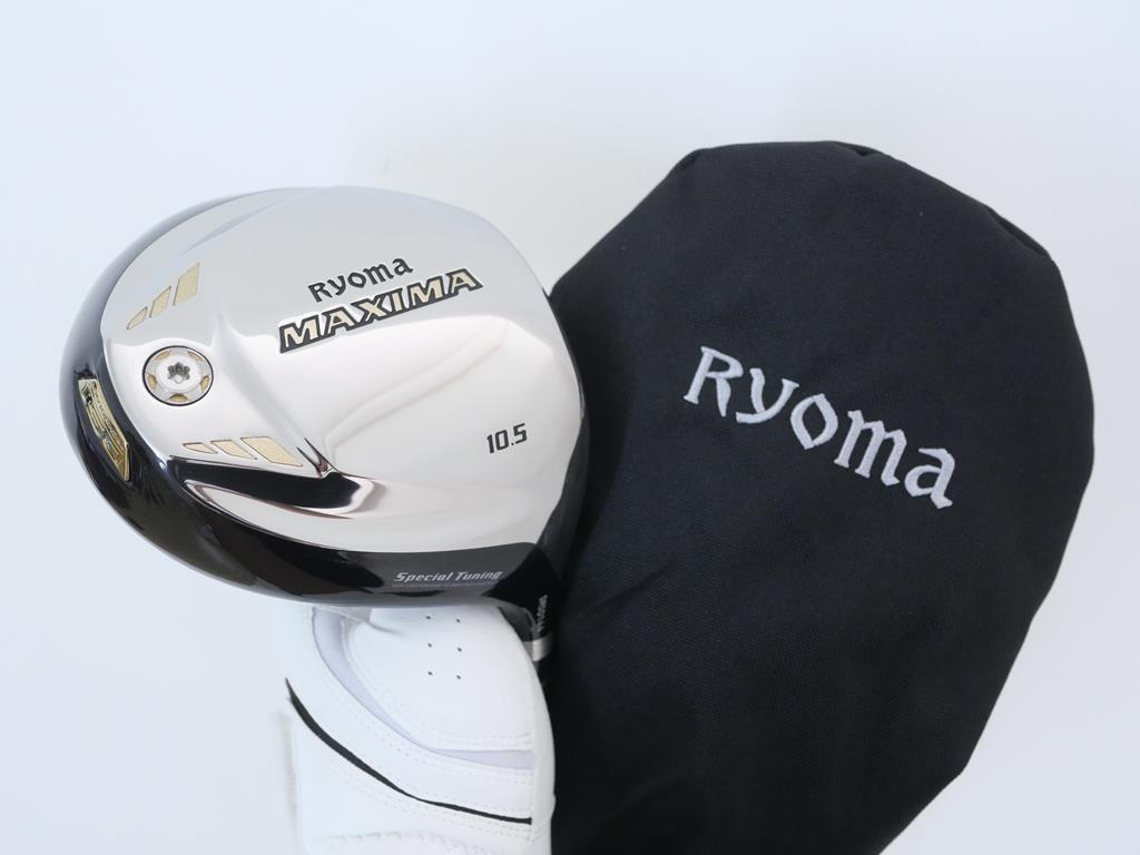 Driver : Ryoma : ไดรเวอร์ Ryoma Maxima Special Tunning (ปี 2019 หน้าเด้งเกินกฏ) Loft 10.5 ก้าน Tour AD M2-D Flex R