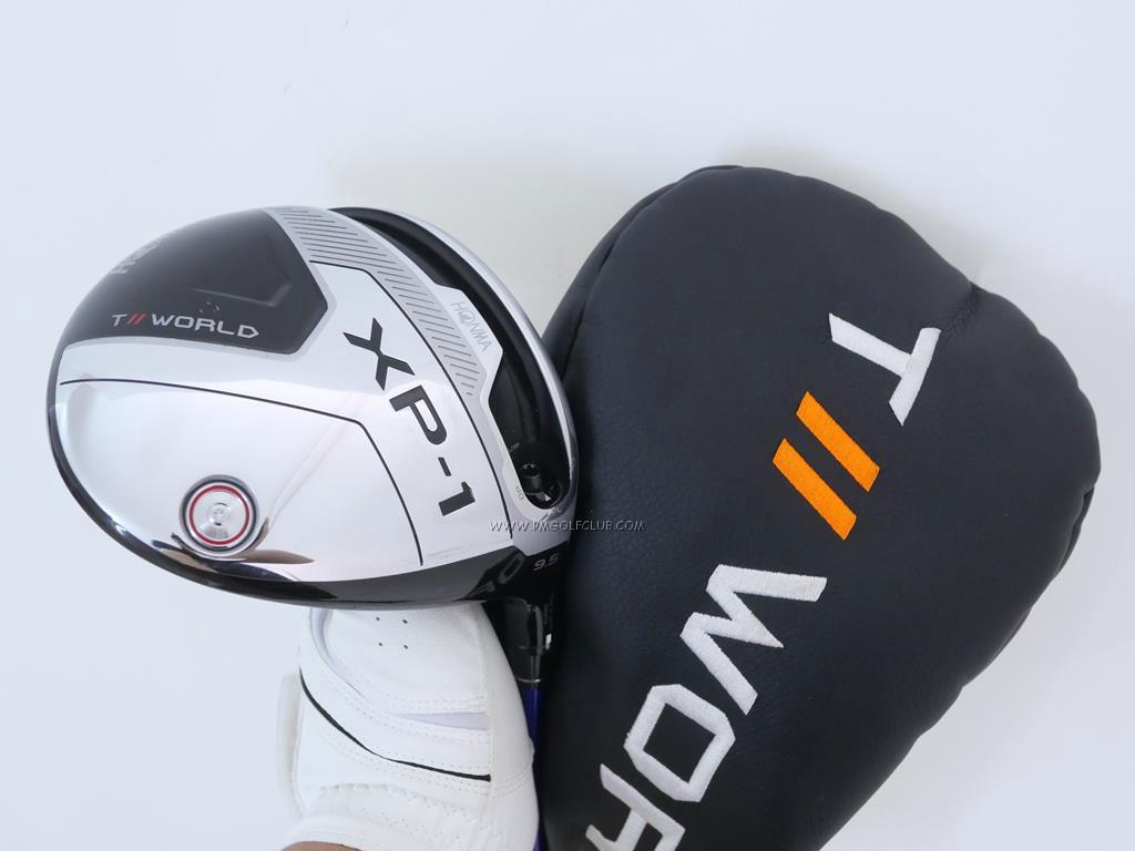 Driver : Honma : ไดรเวอร์ Honma Tour World XP-1 (รุ่นปี 2020) Loft 9.5 ก้าน Honma Vizard FP-7 Flex S