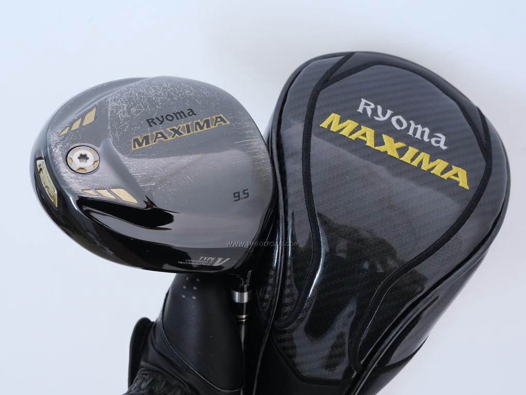 Driver : Ryoma : ไดรเวอร์ Ryoma Maxima Type V (ปี 2019) Loft 9.5 ก้าน Fujikura Speeder 661 Evolution IV Flex S