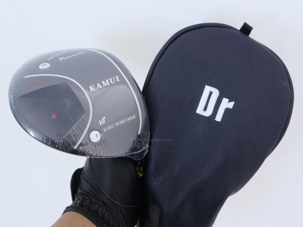 Driver : Kamuiworks : **ของใหม่ ยังไม่แกะพลาสติก** ไดรเวอร์ Kamuiworks KM-400 Conforming (รุ่นล่าสุด ปี 2020 ไกลมาก มีสปริงข้างใน) Loft 10 ก้าน Fujikura Double Kick Flex R