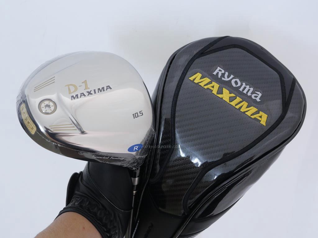 Driver : Ryoma : **ของใหม่ ยังไม่แกะพลาสติก** Ryoma D-1 Maxima Special Tunning (รุ่นปี 2015 หน้าเด้งเกินกฏ) Loft 10.5 ก้าน Tour AD M2-D Flex R