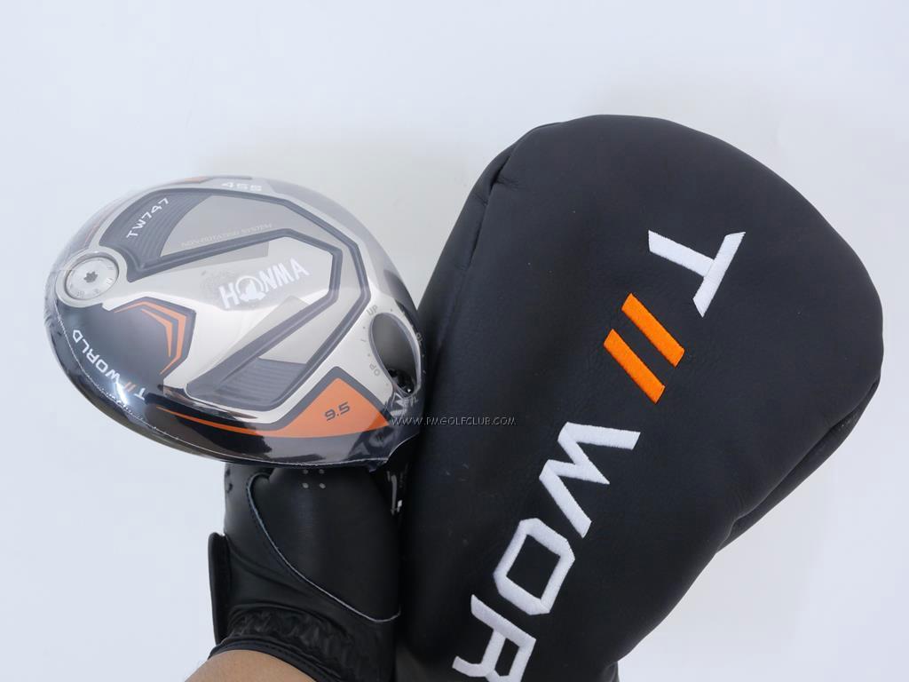 Driver : Honma : **ของใหม่ ยังไม่แกะพลาสติก** ไดรเวอร์ Honma Tour World TW747 455 (ออกปี 2019) Loft 9.5 ก้าน Honma Vizard 50 Flex S