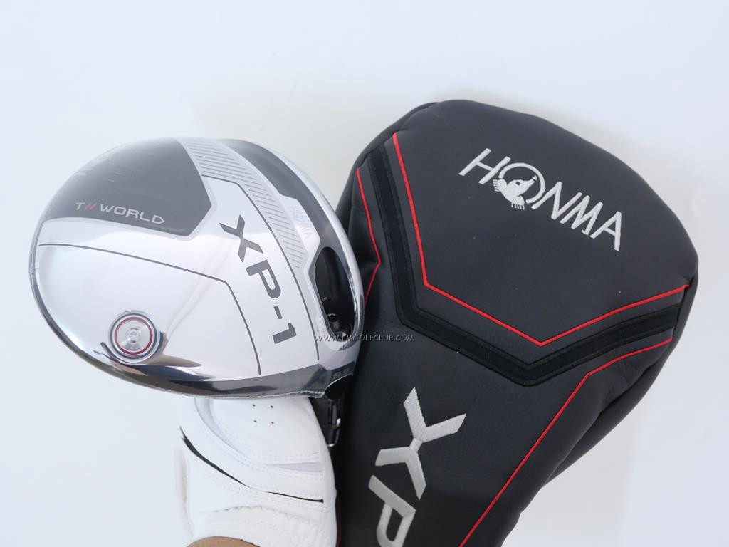 Driver : Honma : **ของใหม่ ยังไม่แกะพลาสติก** ไดรเวอร์ Honma Tour World XP-1 (รุ่นปี 2020) Loft 9.5 ก้าน Honma Vizard 43 Flex R