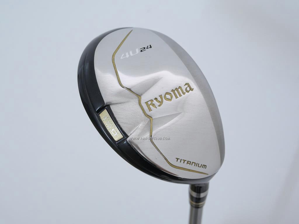 Fairway Wood : Other Brand : ไม้กระเทย Ryoma Utility (Titanium) Loft 24 ก้าน Tour AD Ryoma U Flex SR