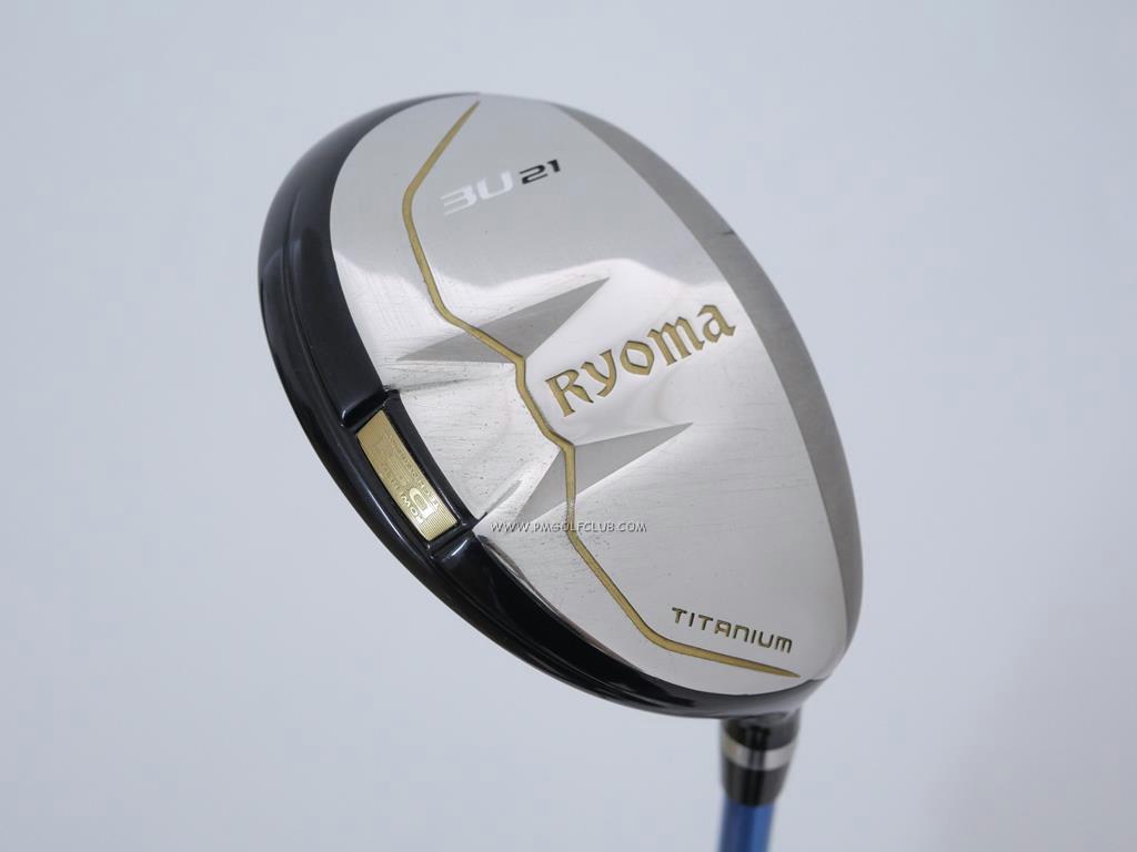Fairway Wood : Other Brand : ไม้กระเทย Ryoma Utility (Titanium) Loft 21 ก้าน Tour AD GT-95 Utility Flex S