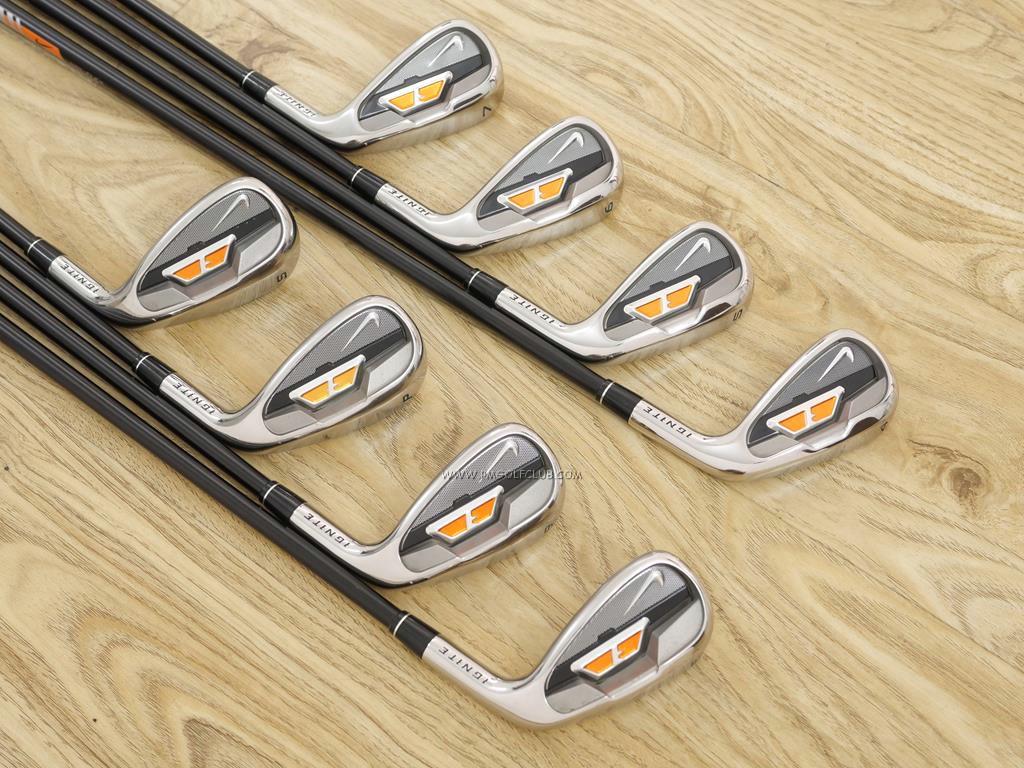 Iron set : Other Brand : ชุดเหล็ก Nike Ignite มีเหล็ก 4-Pw,Sw (8 ชิ้น) ก้านกราไฟต์ Uniflex (SR)