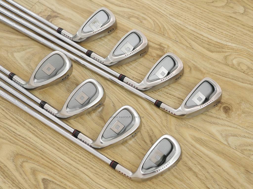 Iron set : Daiwa : ชุดเหล็ก Daiwa OnOff (Titanium ใบใหญ่ ตีง่าย ไกล) มีเหล็ก 5-Pw,Aw,Sw (8 ชิ้น) ก้านเหล็ก NS Pro 950 Flex S