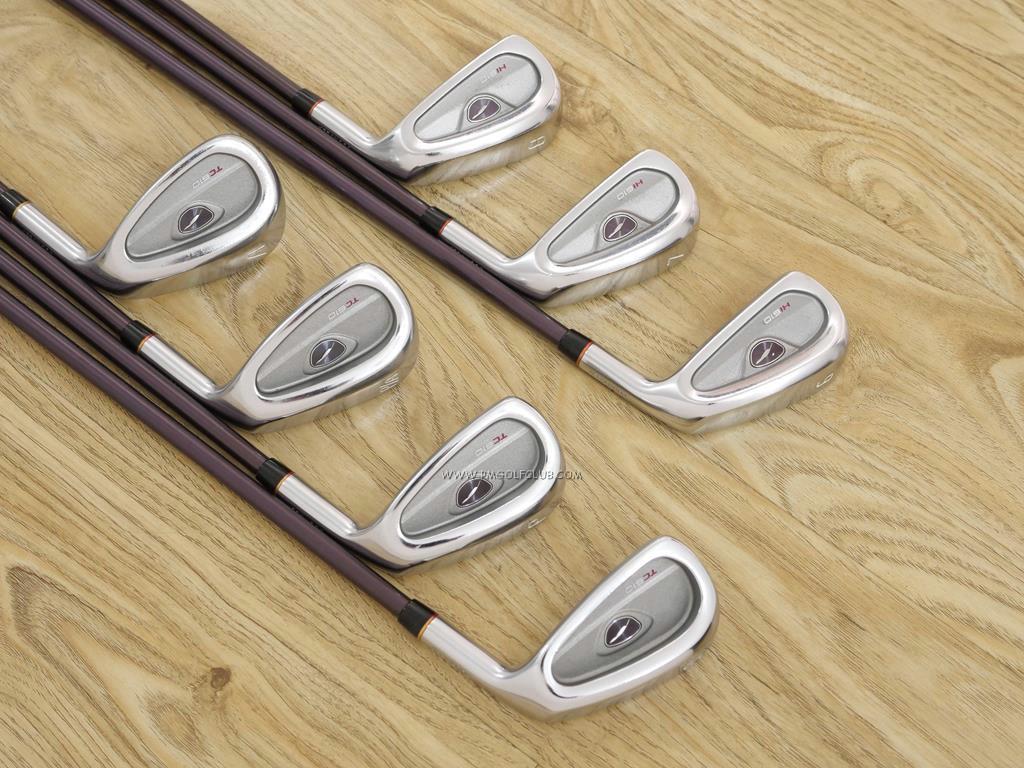 Iron set : Fourteen : ชุดเหล็ก Fourteen TC610 (ตีง่าย ไกลมาก เหล็กยาวกึ่ง Utility) มีเหล็ก 6-Pw,Pa,Aw (7 ชิ้น) ก้านกราไฟต์ Flex R