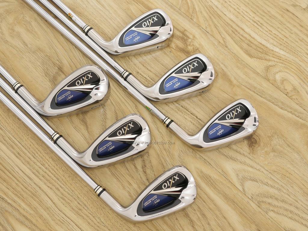 Iron set : XXIO : ชุดเหล็ก XXIO 8 (ใบใหญ่ ตีง่าย ไกล) มีเหล็ก 5-Pw (6 ชิ้น) ก้านเหล็ก NS Pro 900 Flex S