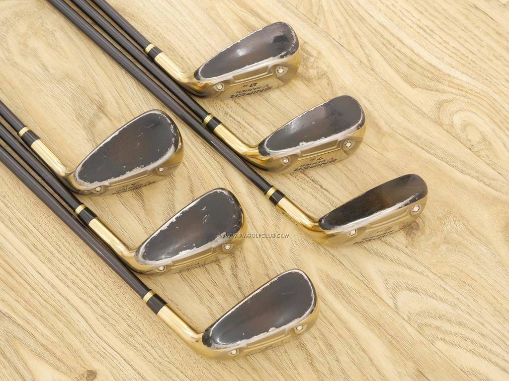 Iron set : Katana : ชุดเหล็กกระเทย Katana Sniper V Series มีเหล็ก 6-Pw,Aw (6 ชิ้น เหล็ก 6 ตีระยะเท่าเหล็ก 5 ปกติ) ก้าน Tour AD VS-5 Flex R