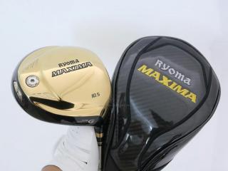 Driver : Ryoma : ไดรเวอร์ Ryoma Maxima Type G (ออกปี 2018) Loft 10.5 ก้าน Tour AD M2-G Flex R