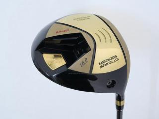 Driver : Kamuiworks KM-300 Gold (รุ่นใหม่ล่าสุด หน้าเด้งเกินกฏ มีสปริงข้างใน) Loft 10.5 ก้าน Fujikura XLR Pro 56 Flex R