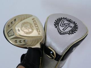 driver : ไดรเวอร์ Katana Voltio II Gold (460cc.) Loft 10 ก้าน Tour AD KT-5 Flex R