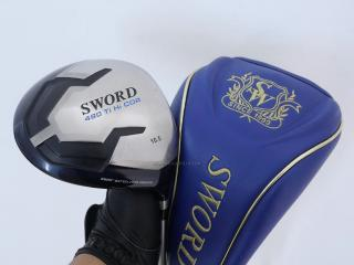 Driver : Katana Sword 480Ti Hi Cor (หน้าเด้งเกินกฏ หัว 480cc) Loft 10.5 ก้าน Sword Tour AD Flex R
