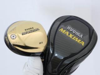 driver : ไดรเวอร์ Ryoma Maxima Special Tunning (ปี 2019 หน้าเด้งเกินกฏ) Loft 10.5 ก้าน Tour AD M2-G Flex R