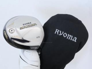 driver : ไดรเวอร์ Ryoma Maxima Type D (ออกปี 2018) Loft 11.5 ก้าน Tour AD M2-D Flex R2